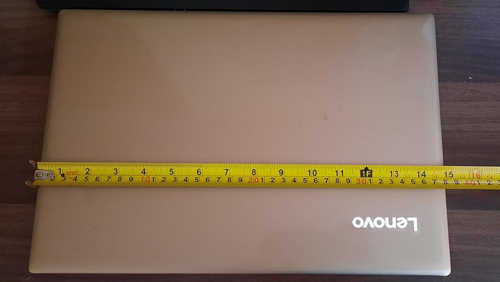 Laptop Width Size